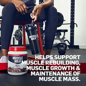 Muscle Milk Genuine Protein Powder, Strawberry Banana, 32g Protein, 2.47 Pound, 16 Servings for $43