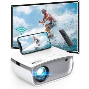 DSF Wireless Mini Projector for $80