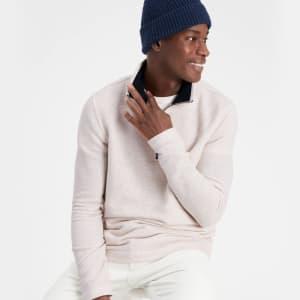 Banana Republic Factory Men's Lofty Half-Zip Sweater for $13 in cart