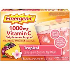 Emergen-C 1000mg Vitamin C Powder, with Antioxidants, B Vitamins and Electrolytes, Vitamin C for $11