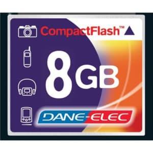 Dane Elec Canon Powershot G6 Digital Camera Memory Card 8GB CompactFlash Memory Card for $24