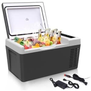 18L Portable Car Refrigerator for $213