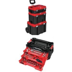 Craftsman Versastack 216pc SAE and Metric Mechanics Tool Set for $180