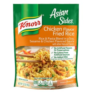Knorr Asian Sides Chicken Fried Rice 8-Pack for $6.42 via Sub & Save