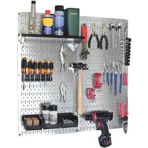 Wall Control Galvanized Steel Pegboard Tool Organizer Kit for $90