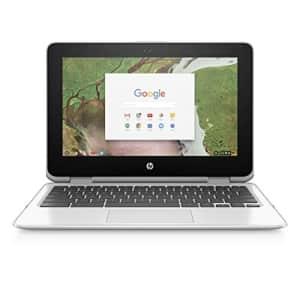 HP Chromebook x360 11-inch Laptop with 360-degree Hinge, Intel Celeron N3350 Processor, 4 GB RAM, for $383