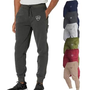 Men's Slim Sweatpants Joggers: 2 for $24