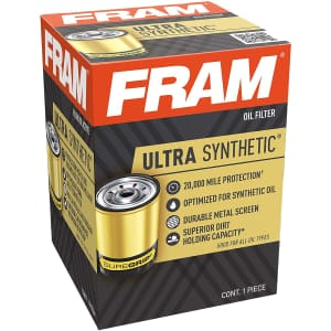 FRAM Ultra Synthetic Interval Spin-On Oil Filter for $7.62 via Sub. & Save