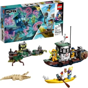 LEGO Hidden Side Augmented Reality Wrecked Shrimp Boat for $41