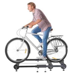 WFX Utility Indoor Bicycle Trainer Roller Frame for $129