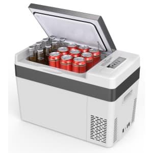 BougeRV 30-Quart Portable Car Cooler Freezer for $223