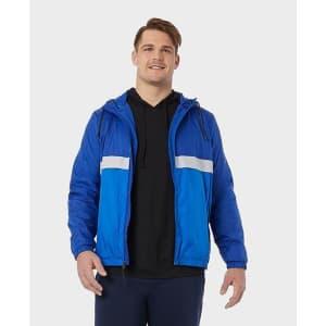 32 Degrees Men's Mesh-Lined Windbreaker Jacket for $15