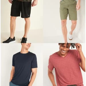 Old Navy Everyday Magic Sale: T-shirts from $8, shorts from $12, more