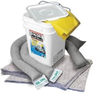 Oil-Dri 5-Gallon Universal Spill Kit for $29