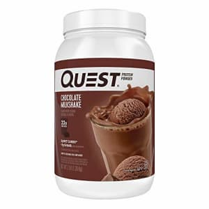 Quest Nutrition Chocolate Milkshake Protein Powder, High Protein, Low Carb, Gluten Free, Soy Free, for $54