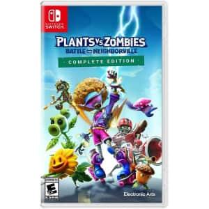 Nintendo Plants vs. Zombies Battle for Neighborville Complete Ed. for Switch for $25