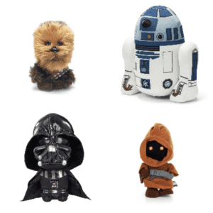 """Star Wars 7"""" Plush Characters at Flash PopUp: for $13"""