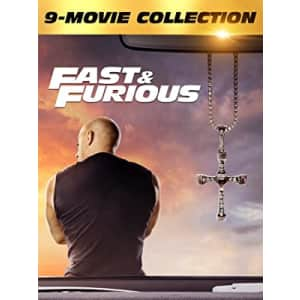 Fast & Furious 9-Movie Collection in HD for $20