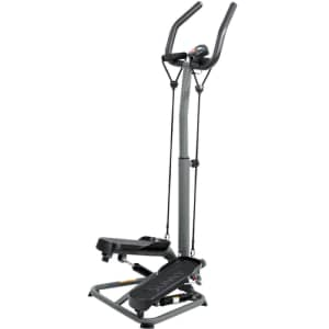 Sunny Health and Fitness Twist Stepper w/ Handlebar and Resistance Bands for $99