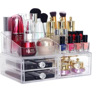 Coolbear Stackable Makeup Organizer for $18