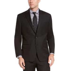 Izod Men's Classic-Fit Suit Jacket for $60