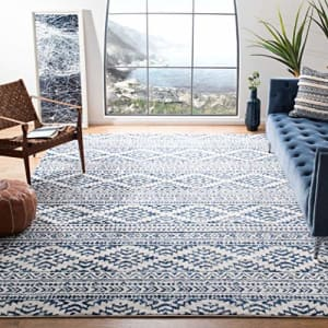 Safavieh Tulum Collection TUL272D Moroccan Boho Tribal Non-Shedding Living Room Bedroom Accent Area for $27