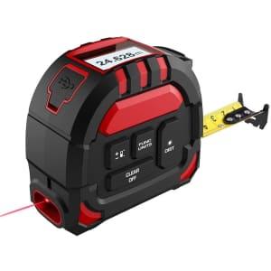 Merterks 2-in-1 Laser Tape Measure for $15
