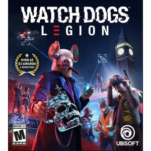 Watch Dogs: Legion for PS5, PS4, or Xbox One for $20