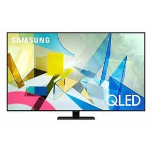 SAMSUNG 65-inch Class QLED Q80T Series - 4K UHD Direct Full Array 12X Quantum HDR 12X Smart TV with for $1,325