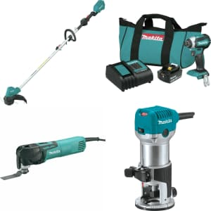 Certified Refurb Makita Outlet at eBay: Up to 60% off
