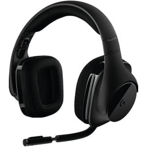 Logitech G533 Wireless Gaming Headset for $74