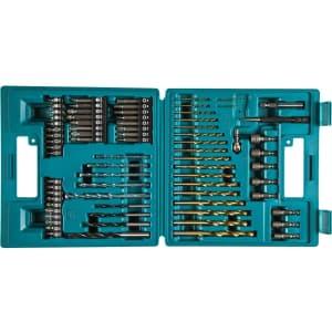 Makita 75-Piece Metric Drill and Screw Bit Set for $25
