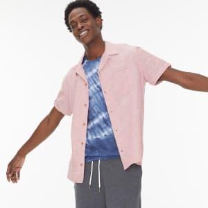 Aeropostale Men's Button-Down Resort Shirt for $10