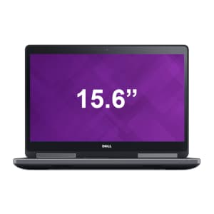Refurb Dell Precision 7510 Laptops at Dell Refurbished Store: Extra 48% off