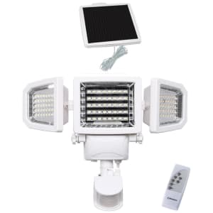 Westinghouse 2,000-Lumen Solar Motion-Activated Security Light w/ Remote for $30 for members