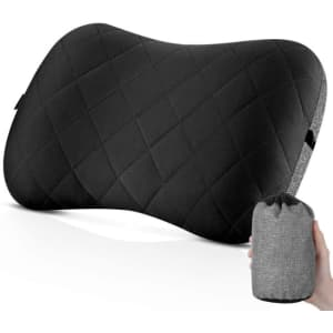 Camping Pillow for $16