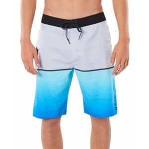 Rip Curl Men's Mirage Sunrise Stretch Boardshorts, Blue/Blue 20, 40 for $40