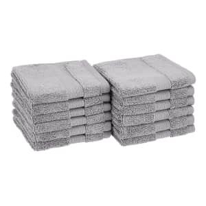 AmazonBasics Dual Performance Washcloths 12-Pack for $9 via Prime