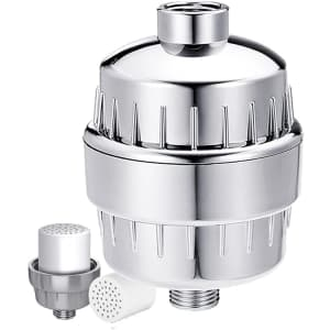 Ruito 17-Stage Shower Filter Kit w/ Vitamin C for $11