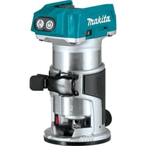 Makita XTR01Z 18V LXT Lithium-Ion Brushless Cordless Compact Router for $129