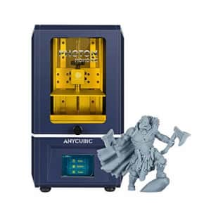 "ANYCUBIC Photon Mono SE 3D Printer, UV LCD SLA Photocuring Resin 3D Printer, 6"" 2K Mono Screen, for $330"