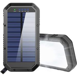 GoerTek 25,000mAh Solar Charger for $34
