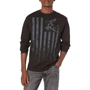 Metal Mulisha Men's Stripes Long Sleeve Tee Shirt Black, Medium for $21