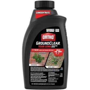 Ortho 32-oz. GroundClear Year Long Vegetation Killer for $10