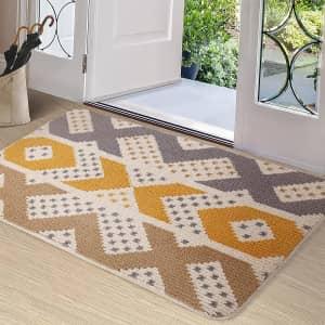 """Color & Geometry 24"""" x 36"""" Indoor Door Mat for $14"""