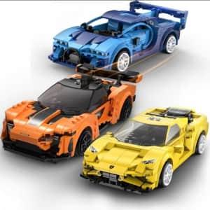 Newrice MOC RC Building Block Race Car for $15