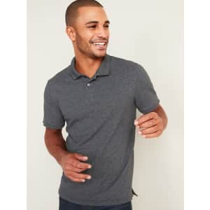 Old Navy Men's Built-In Flex Moisture-Wicking Pique Pro Polo Shirt for $8.38 in cart