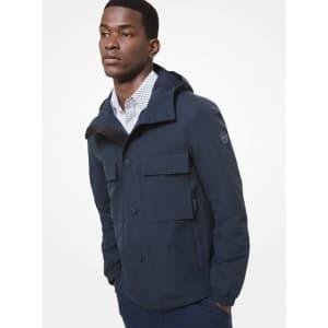 Michael Kors Men's Woven Hooded Jacket for $134