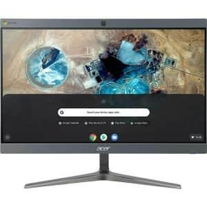 """Acer Chromebase 42I2 Celeron 23.8"""" All-in-One Desktop PC for $378 in cart"""