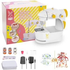 KPCB Tech Mini Sewing Machine for Beginners for $33